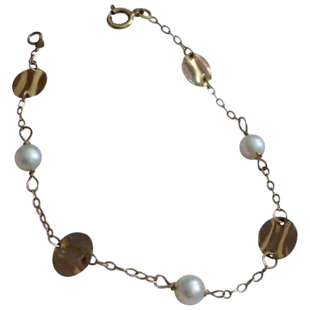 - Bracelet Nacre pour femme en or jaune - dore