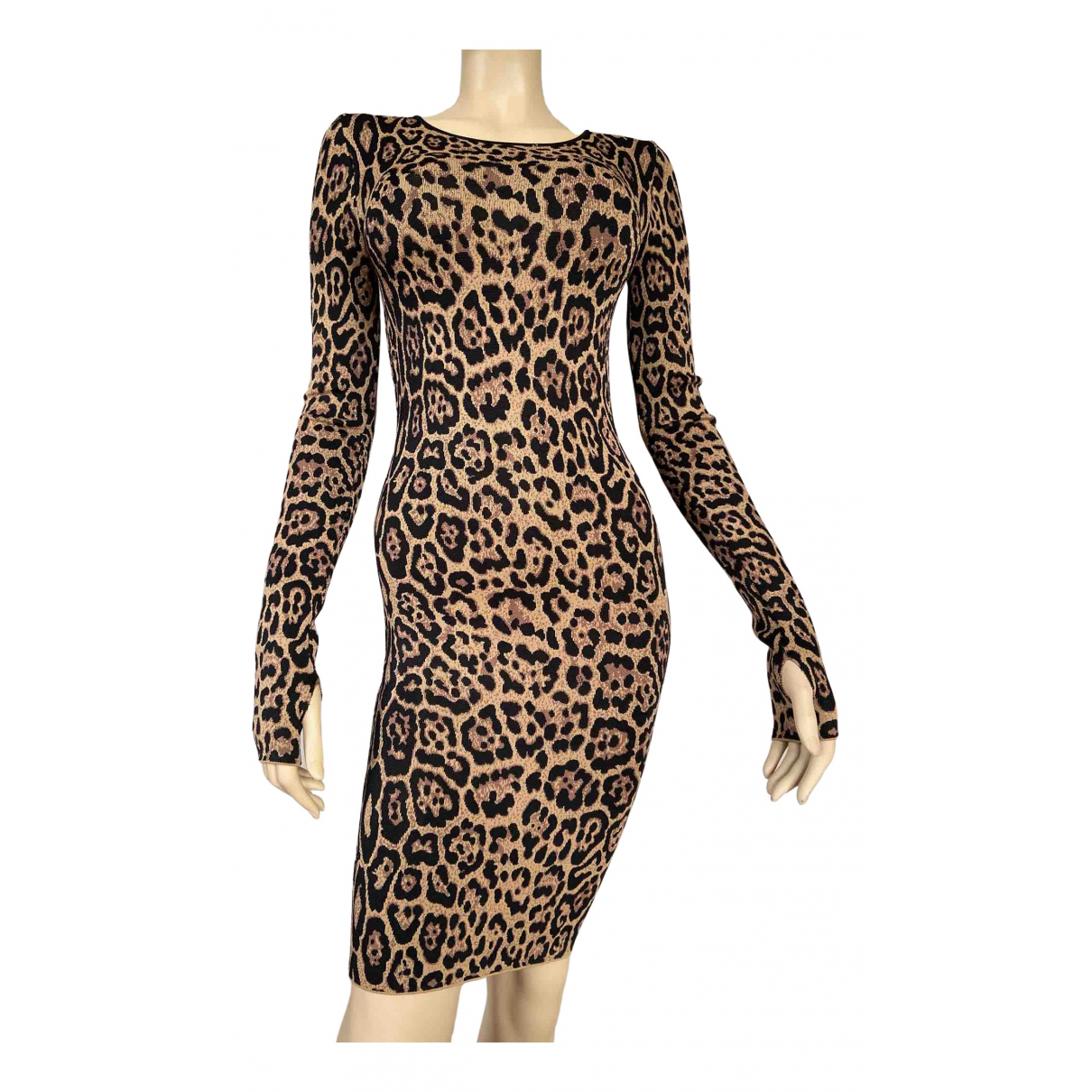 Bcbg Max Azria \N Kleid in  Bunt Baumwolle - Elasthan