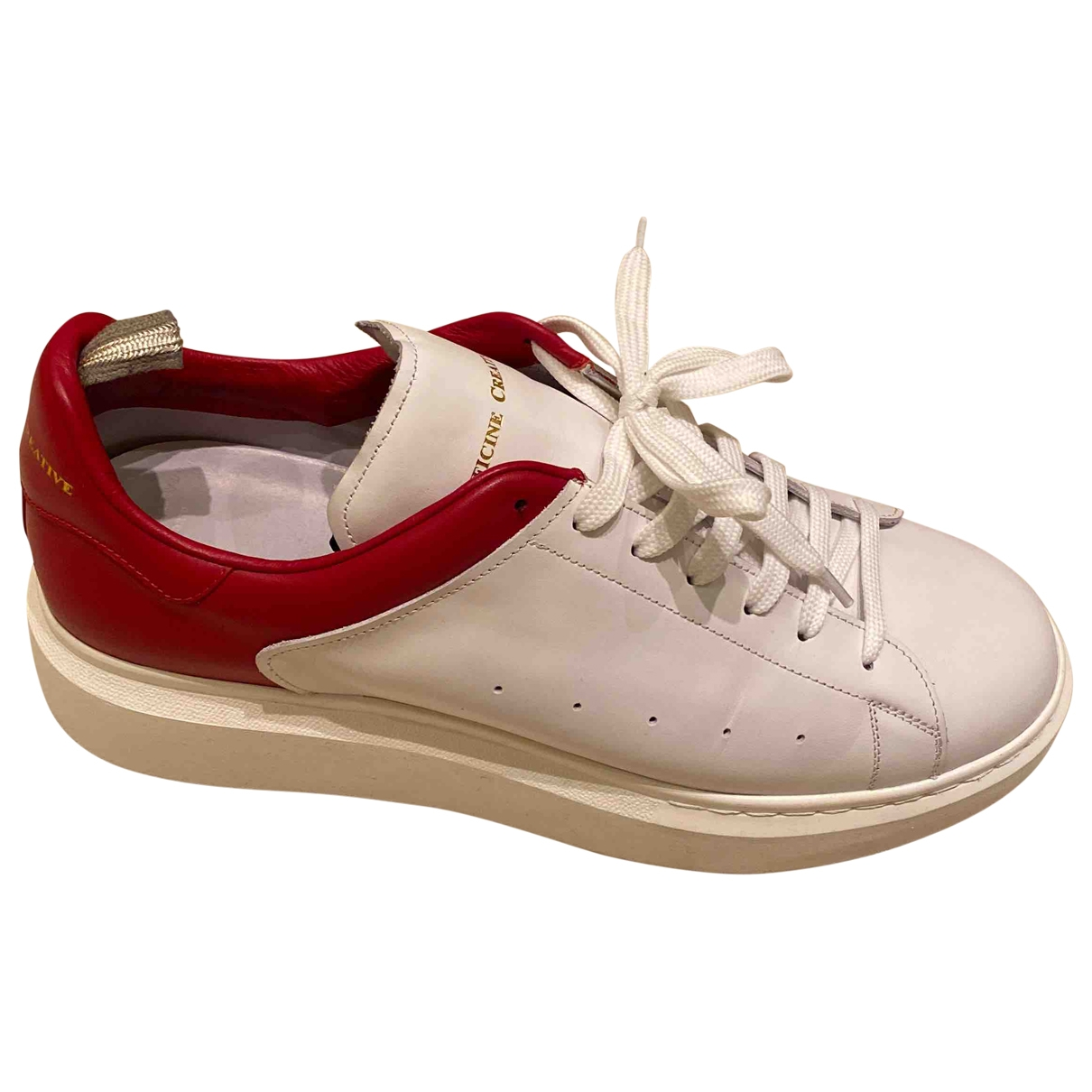 Officine Creative \N White Leather Trainers for Men 44 EU