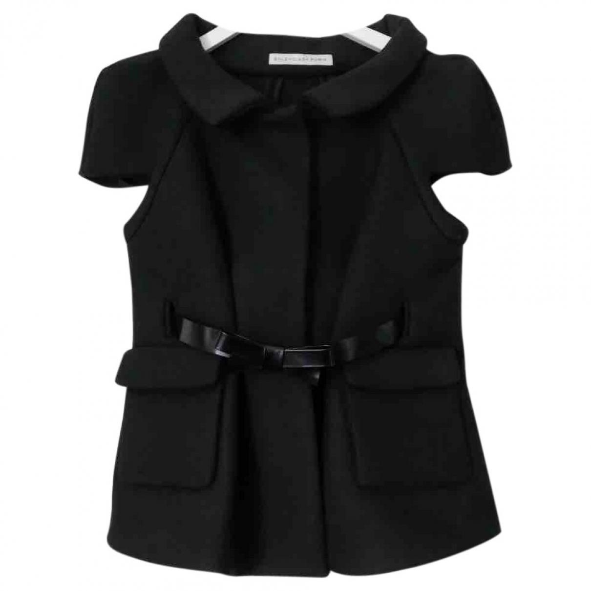 Balenciaga - Veste   pour femme en laine - noir