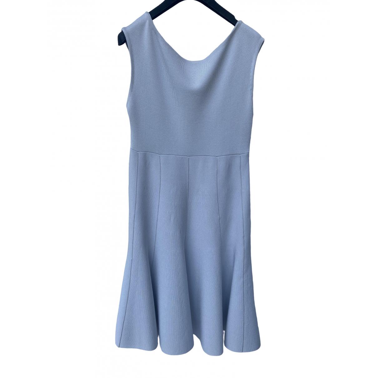 Dior \N Kleid in  Blau Viskose