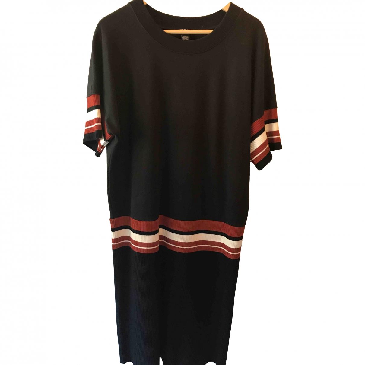 Dkny \N Black Cotton - elasthane dress for Women L International