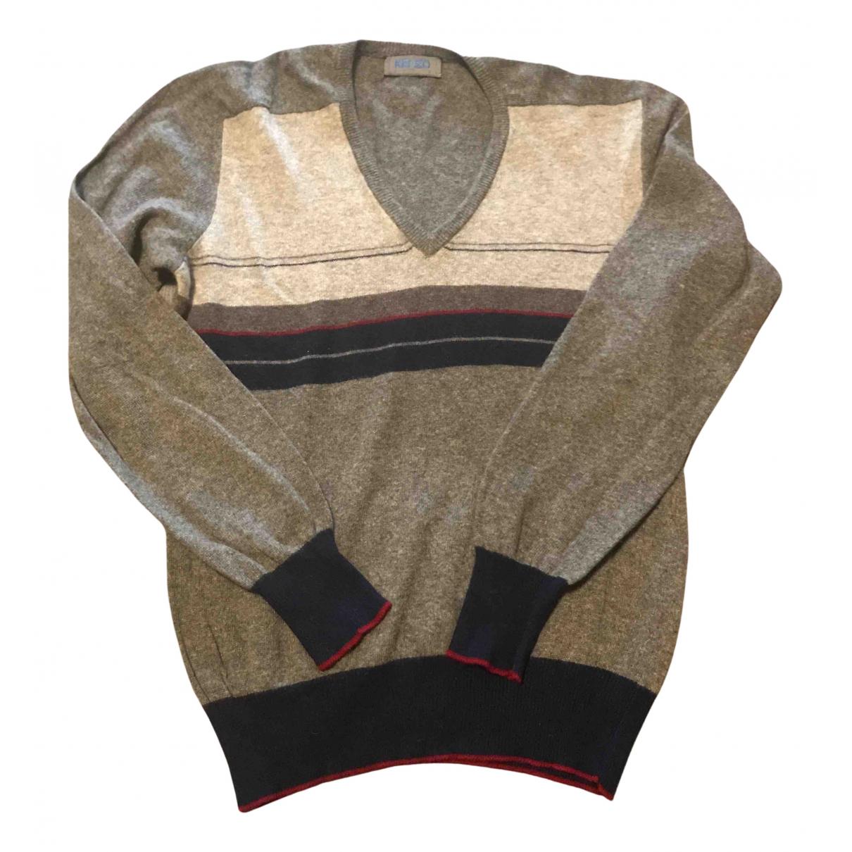 Kenzo \N Pullover.Westen.Sweatshirts  in  Grau Kaschmir