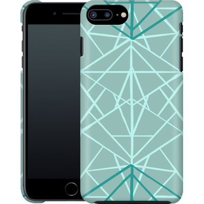 Apple iPhone 7 Plus Smartphone Huelle - Geometric Sketches 3 von Mareike Bohmer