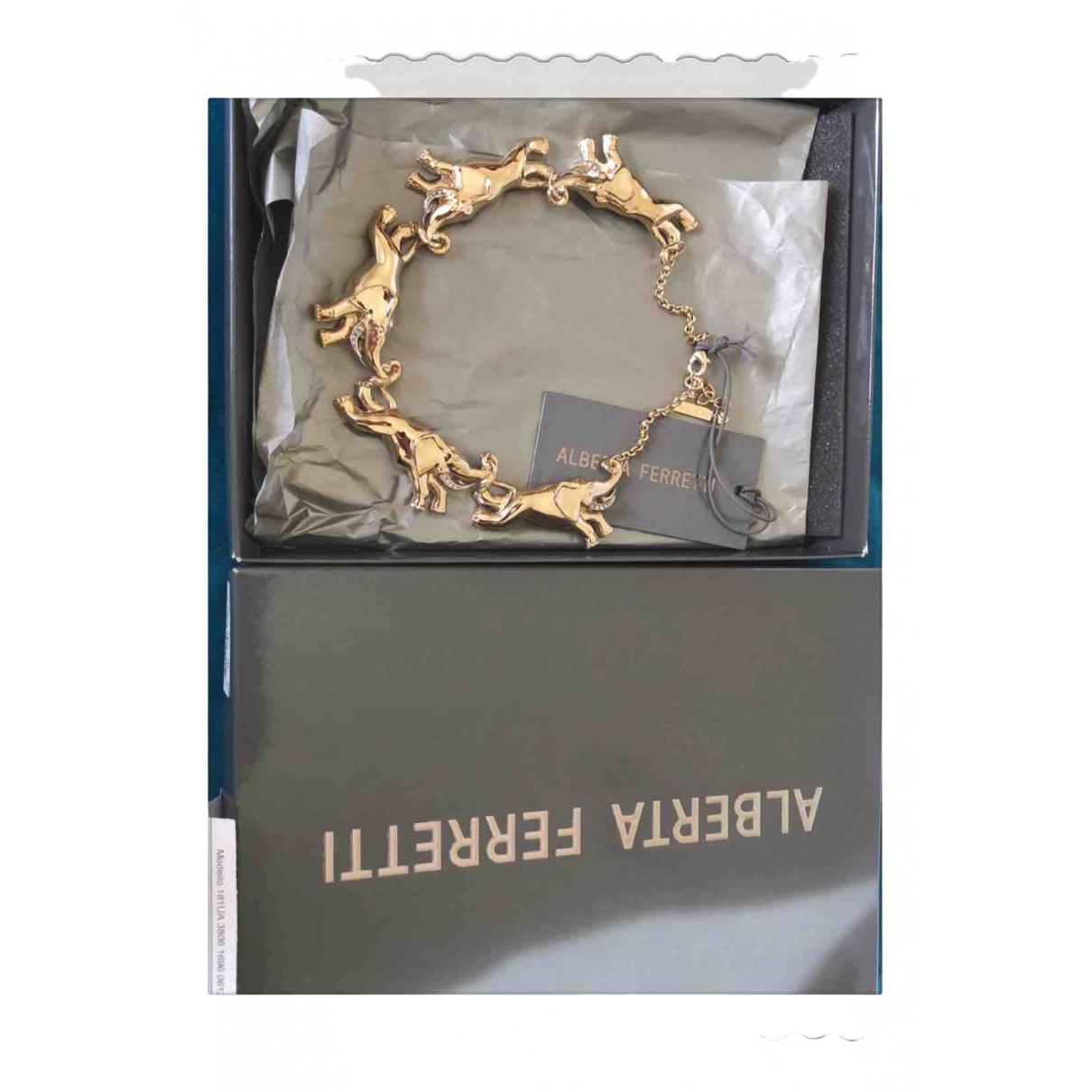 Alberta Ferretti \N Kette in  Gold Metall
