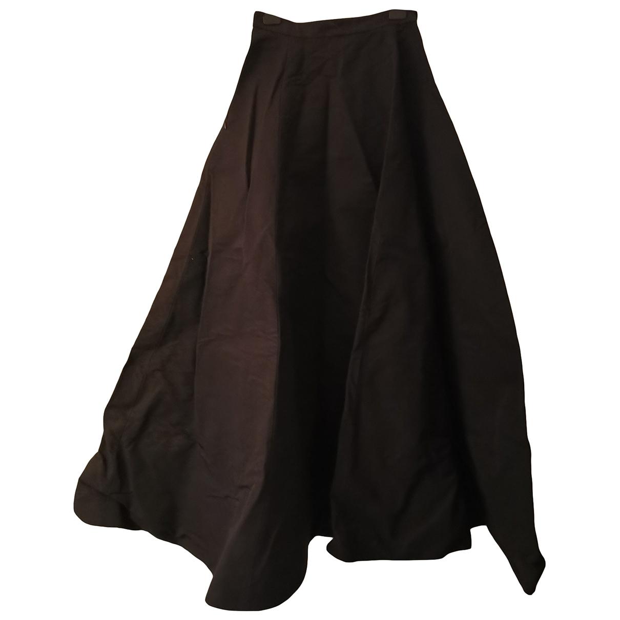 Gareth Pugh - Jupe   pour femme en coton - noir