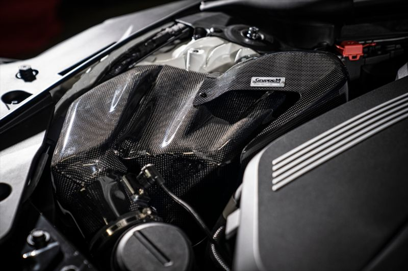 GruppeM FR-0349 Ram Air System Carbon Duct Intake Kit BMW Z4 M40i 3.0L G29 19-21