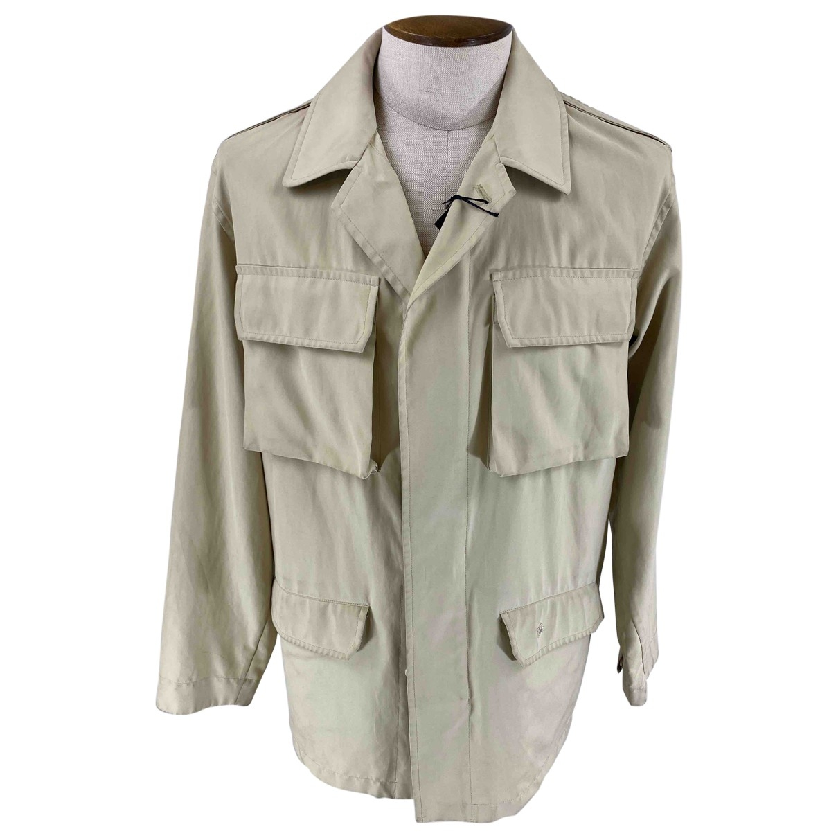 Burberry \N Beige jacket  for Men 48 IT