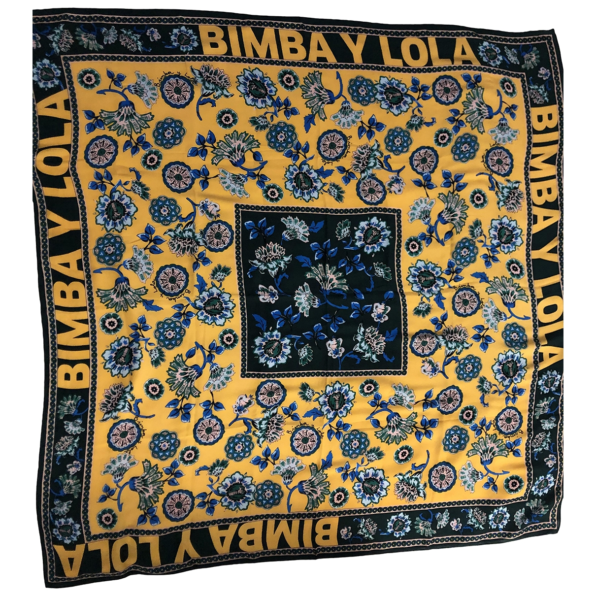 Bimba Y Lola \N Schal in  Gelb Polyester