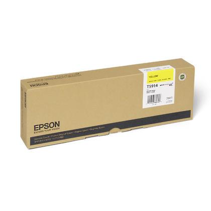 Epson T591400 cartouche d'encre UltraChrome originale jaune