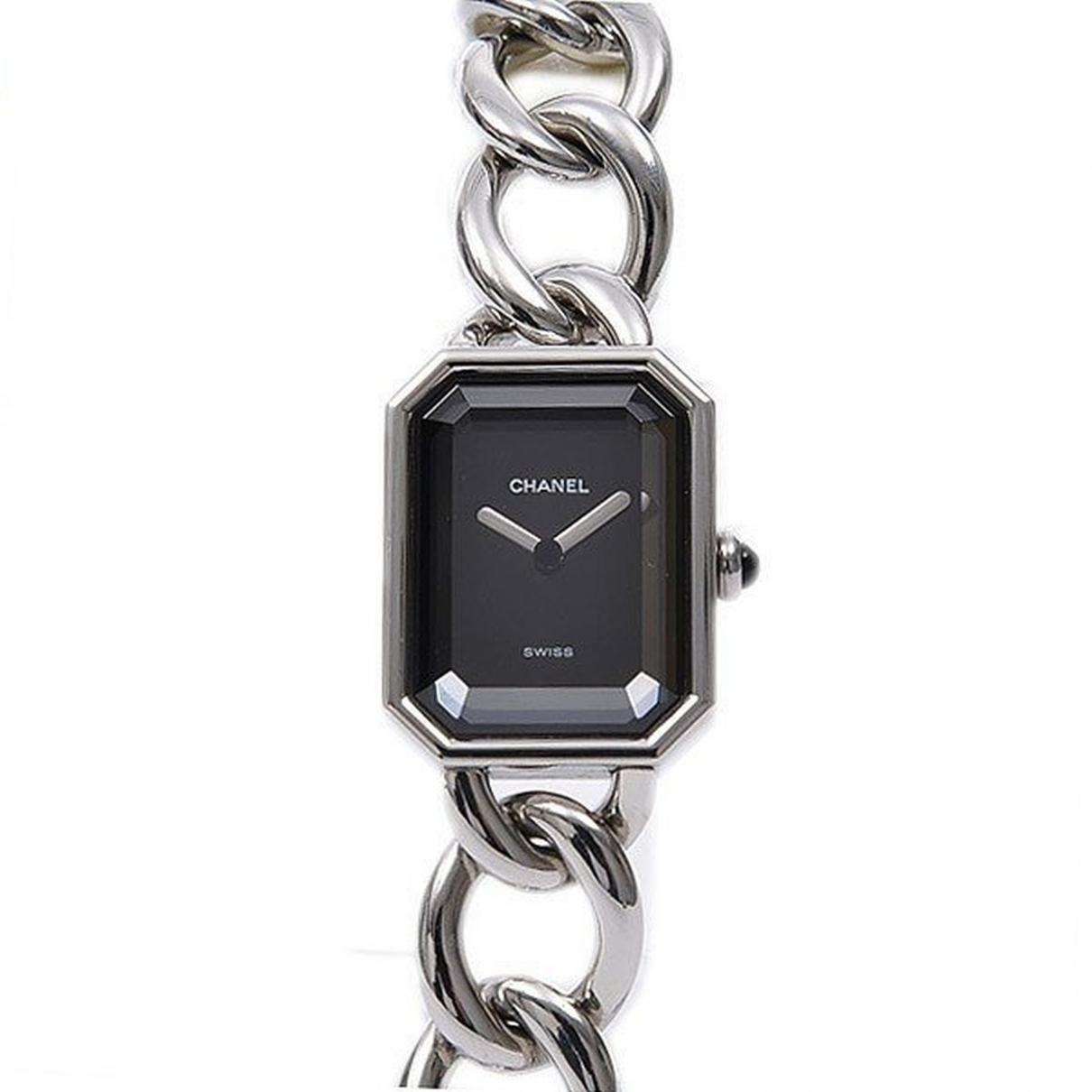Chanel Premiere Chaine Uhr in  Silber Stahl