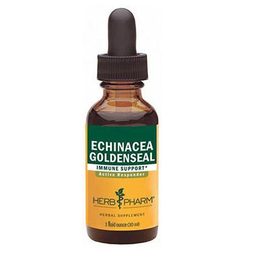 Rapid Immune Boost (Echinacea Goldenseal) 4 oz by Herb Pharm
