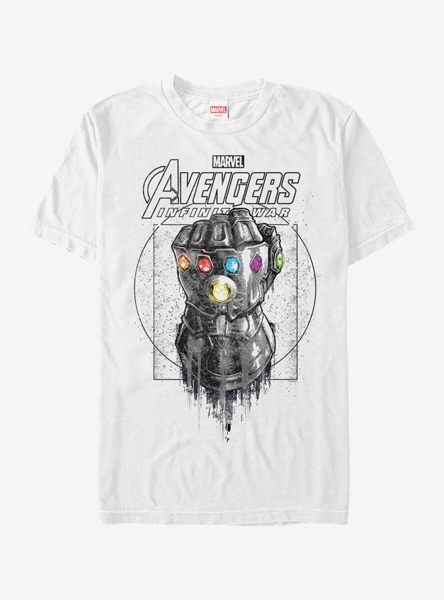 Marvel Avengers: Infinity War Gauntlet Drip T-Shirt