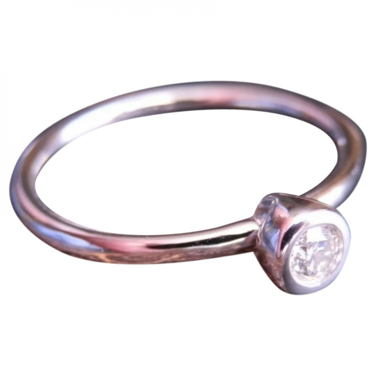 Ofee Carre Chic Ring in  Silber Weissgold