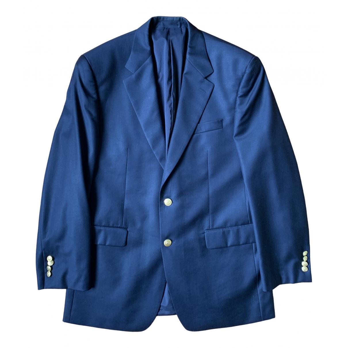 Lauren Ralph Lauren \N Navy Wool jacket  for Men 50 IT