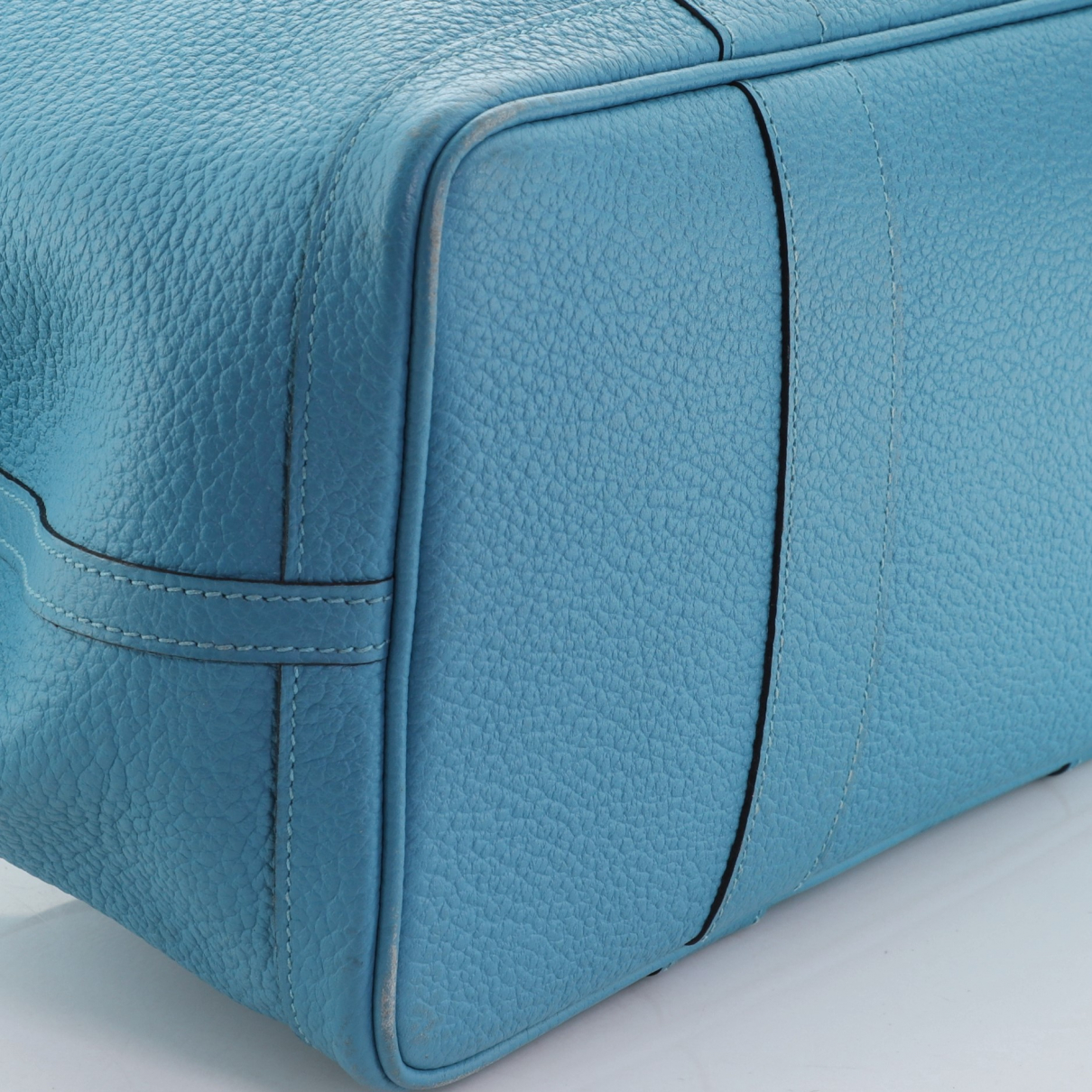 Hermès \N Blue Leather handbag for Women \N