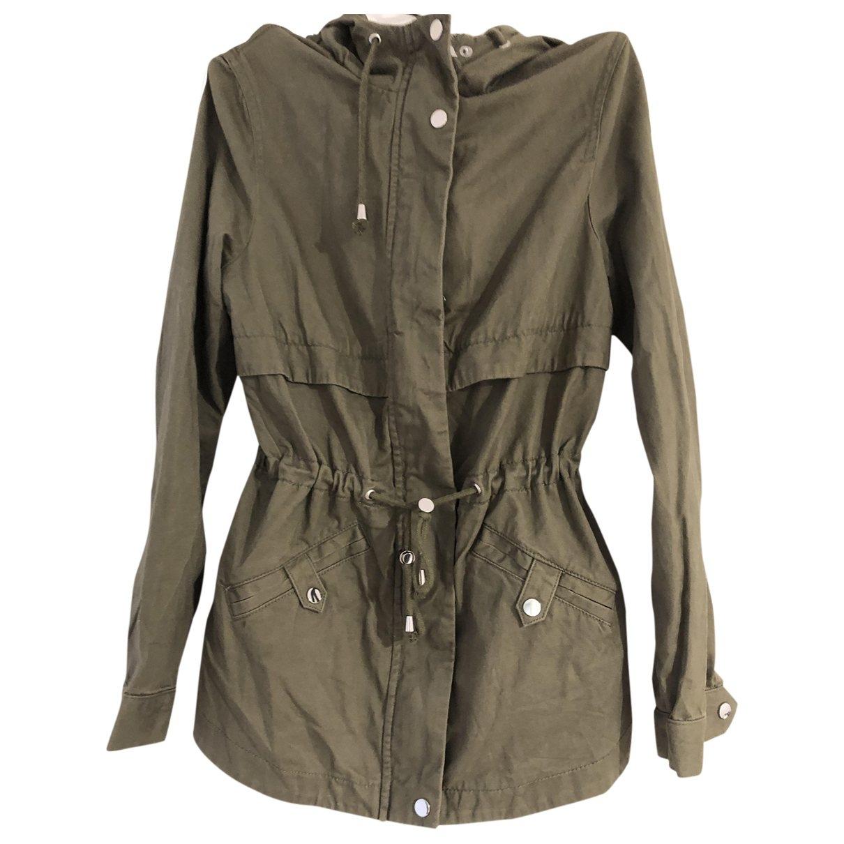 - Veste   pour femme en coton - vert