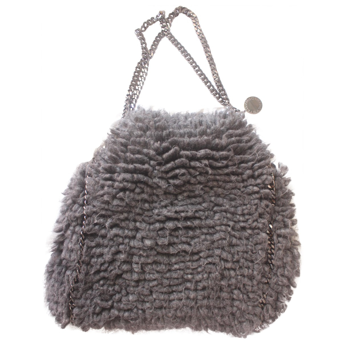 Stella Mccartney Falabella Grey Wool handbag for Women N