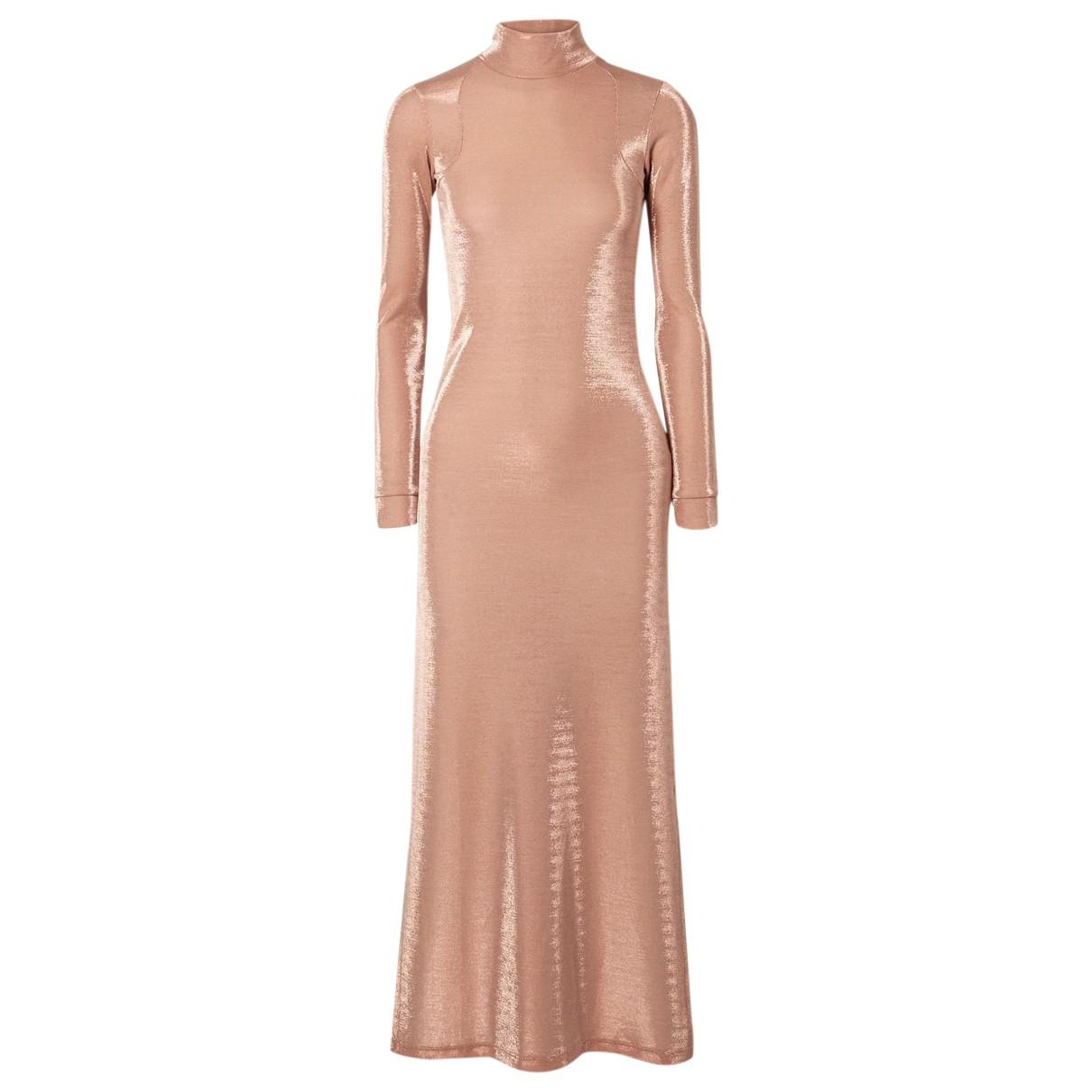 Michael Lo Sordo - Robe   pour femme en coton - rose