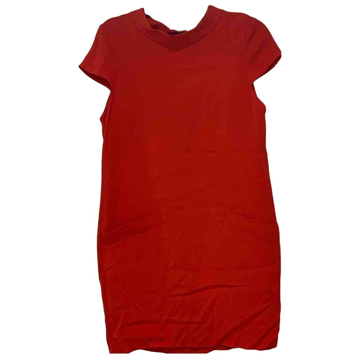Alice & Olivia \N Kleid in  Rot Synthetik