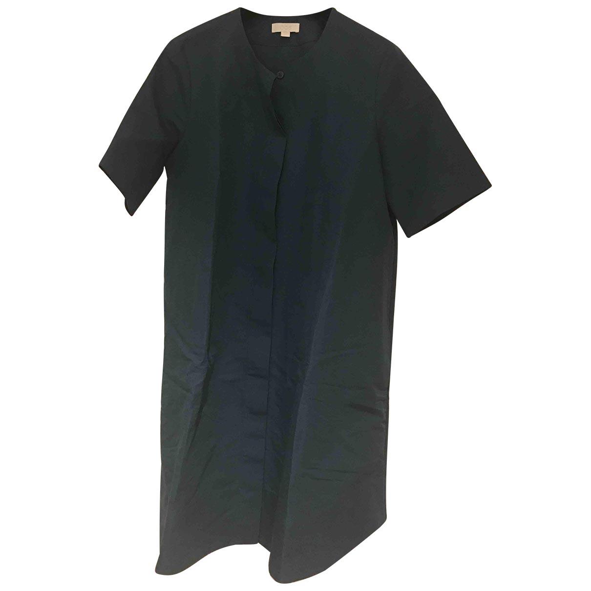 Cos \N Kleid in  Gruen Leinen