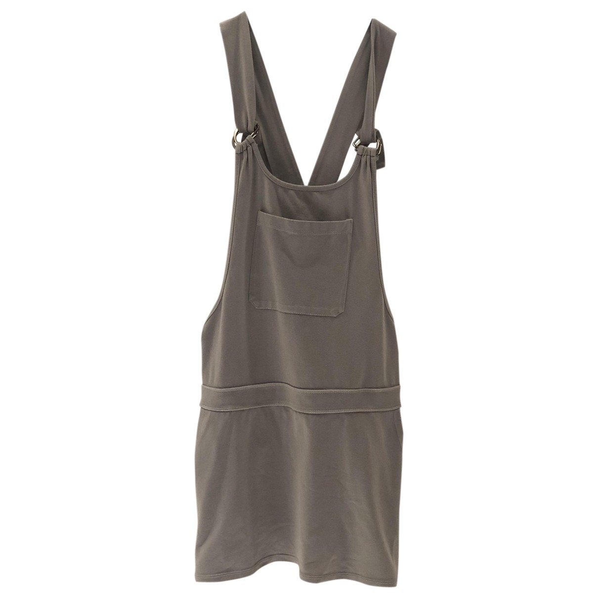 Non Signe / Unsigned \N Jumpsuit in  Grau Synthetik