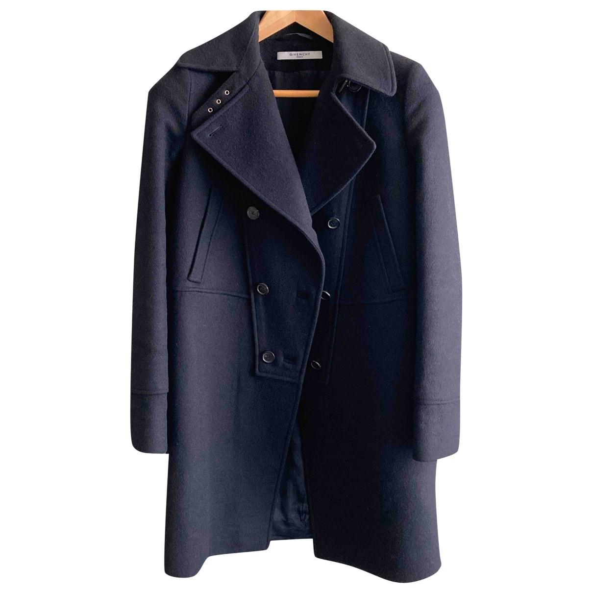 Givenchy \N Black Wool coat for Women 38 FR