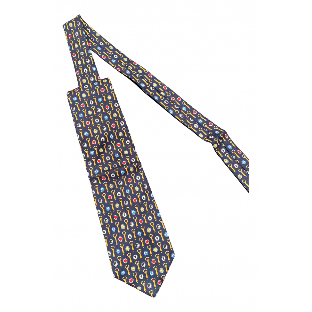 Moschino N Multicolour Cotton Ties for Men N