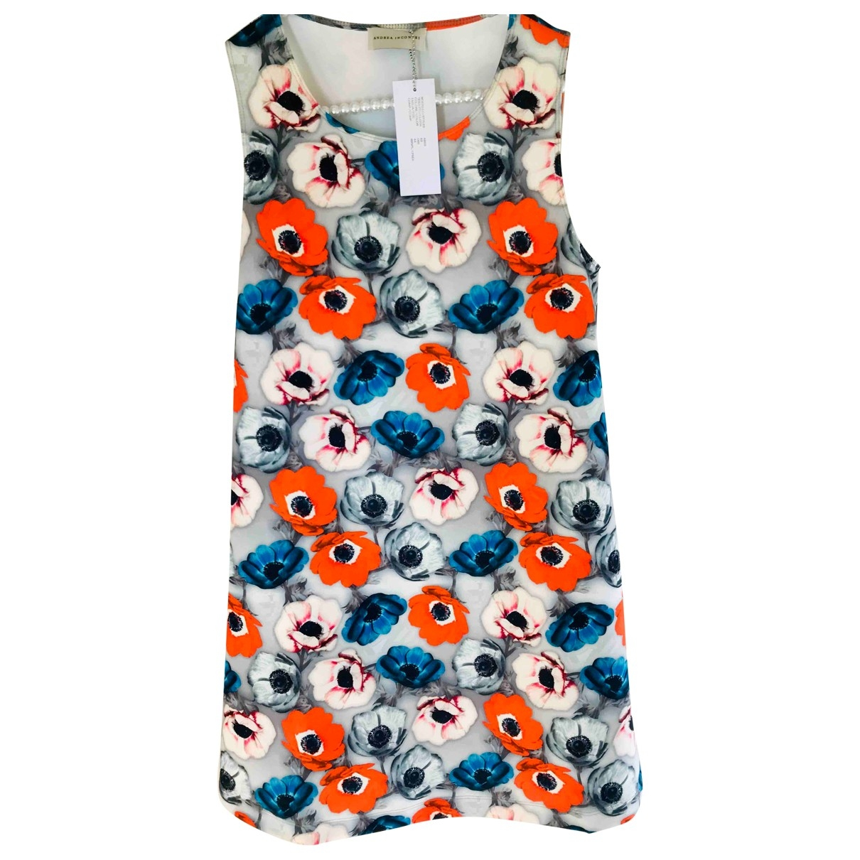 Andrea Incontri \N Kleid in  Bunt Polyester