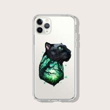 iPhone Schutzhuelle mit Leopard & Baum Muster