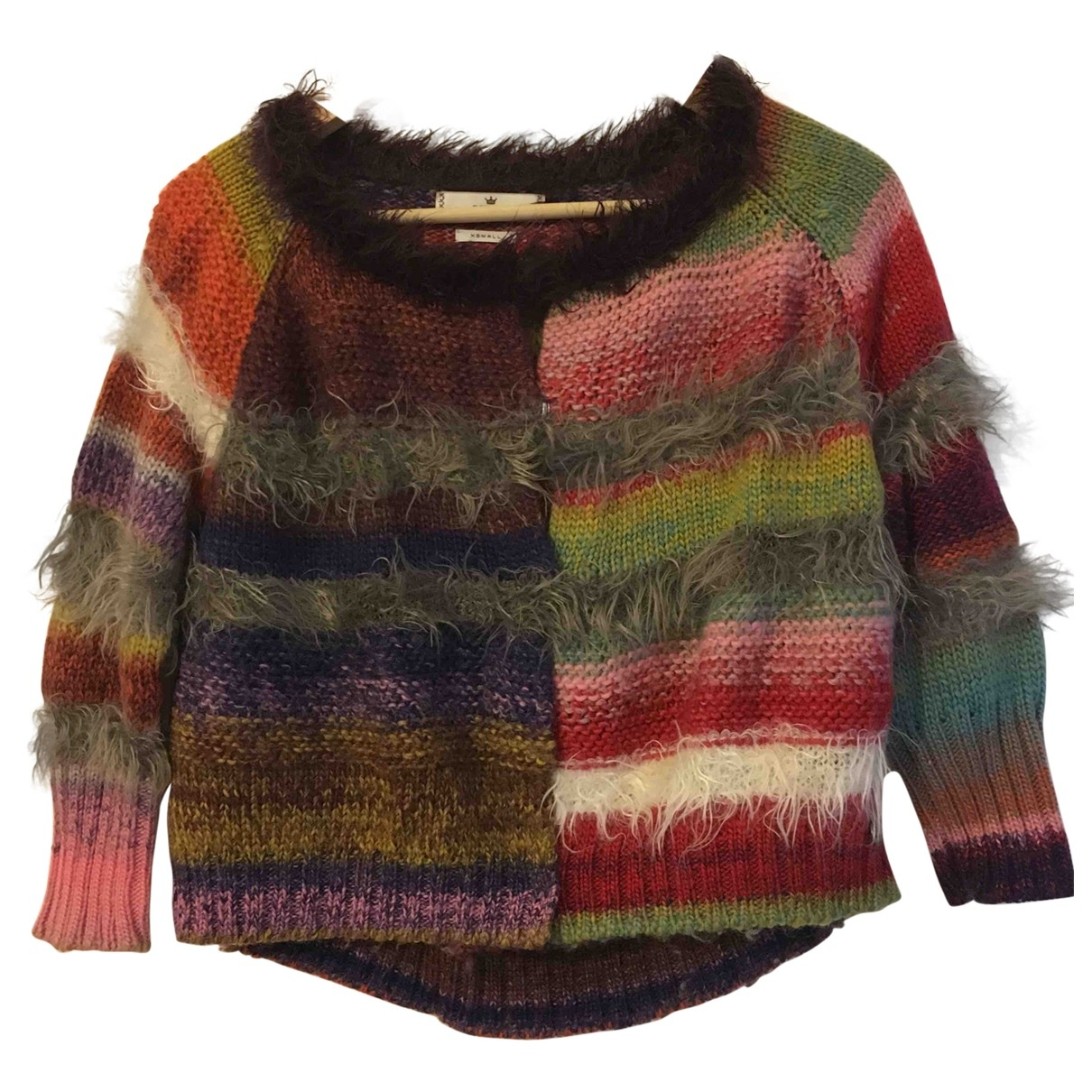 Replay \N Pullover in  Bunt Wolle