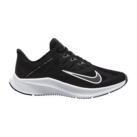 Nike Quest 3 Womens Running Shoes, 6 1/2 Medium, Black