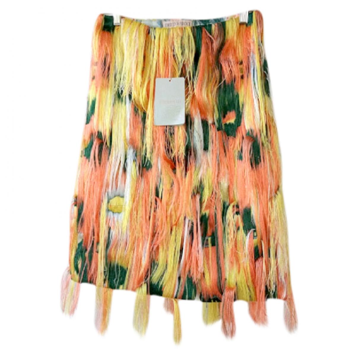 Emilio Pucci - Jupe   pour femme en coton - multicolore