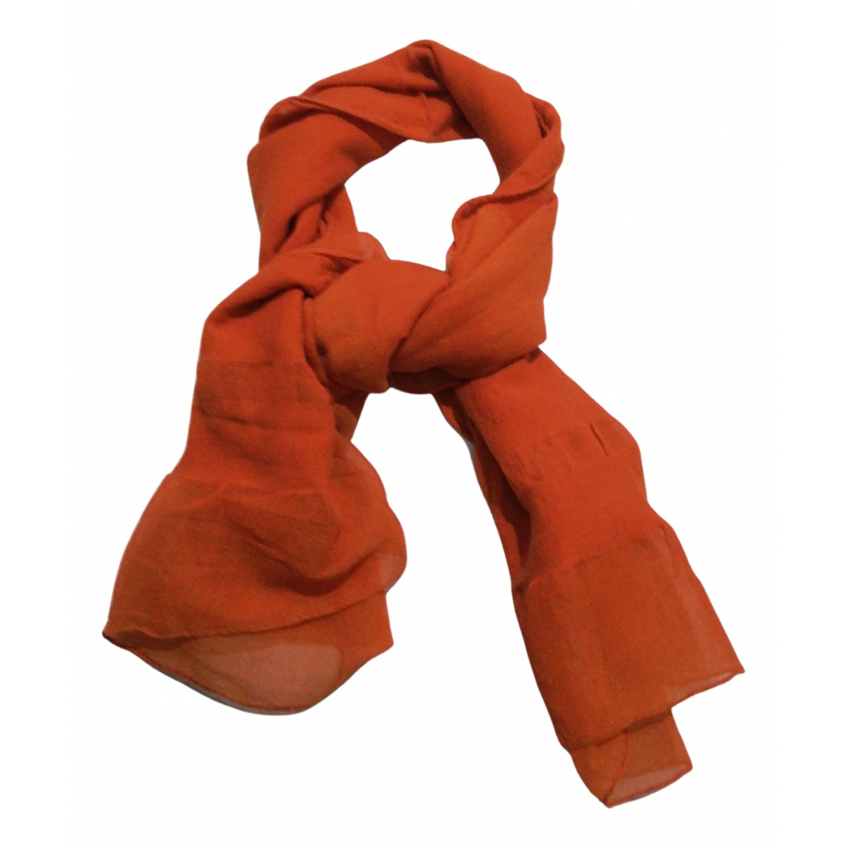 Etro N Orange Silk scarf for Women N