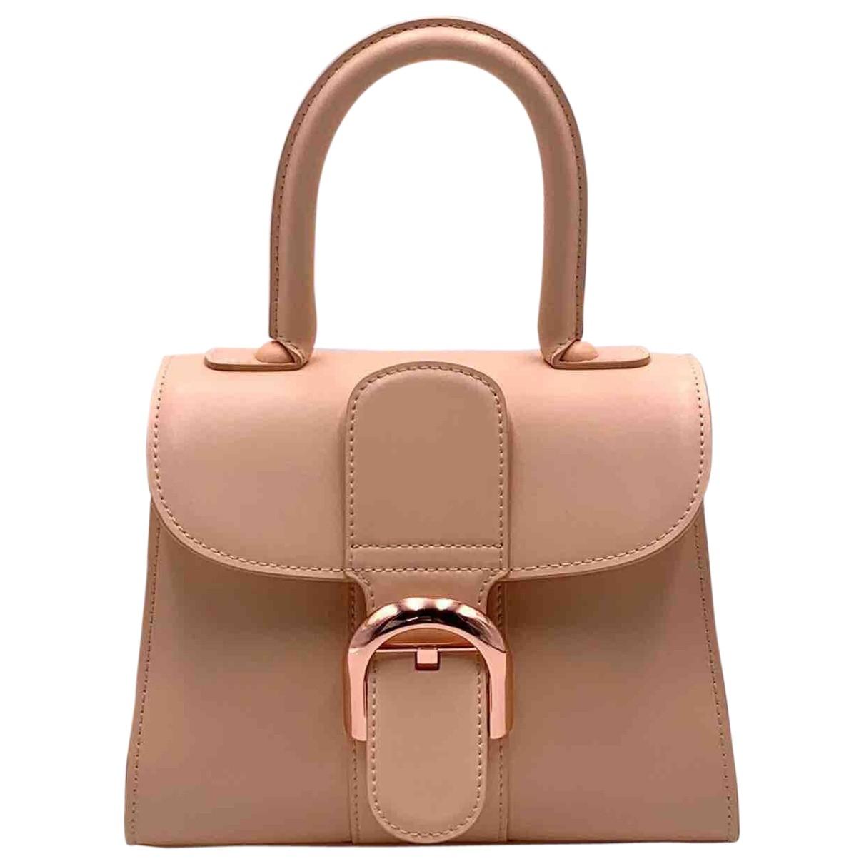 Delvaux Le Brillant Pink Leather handbag for Women \N