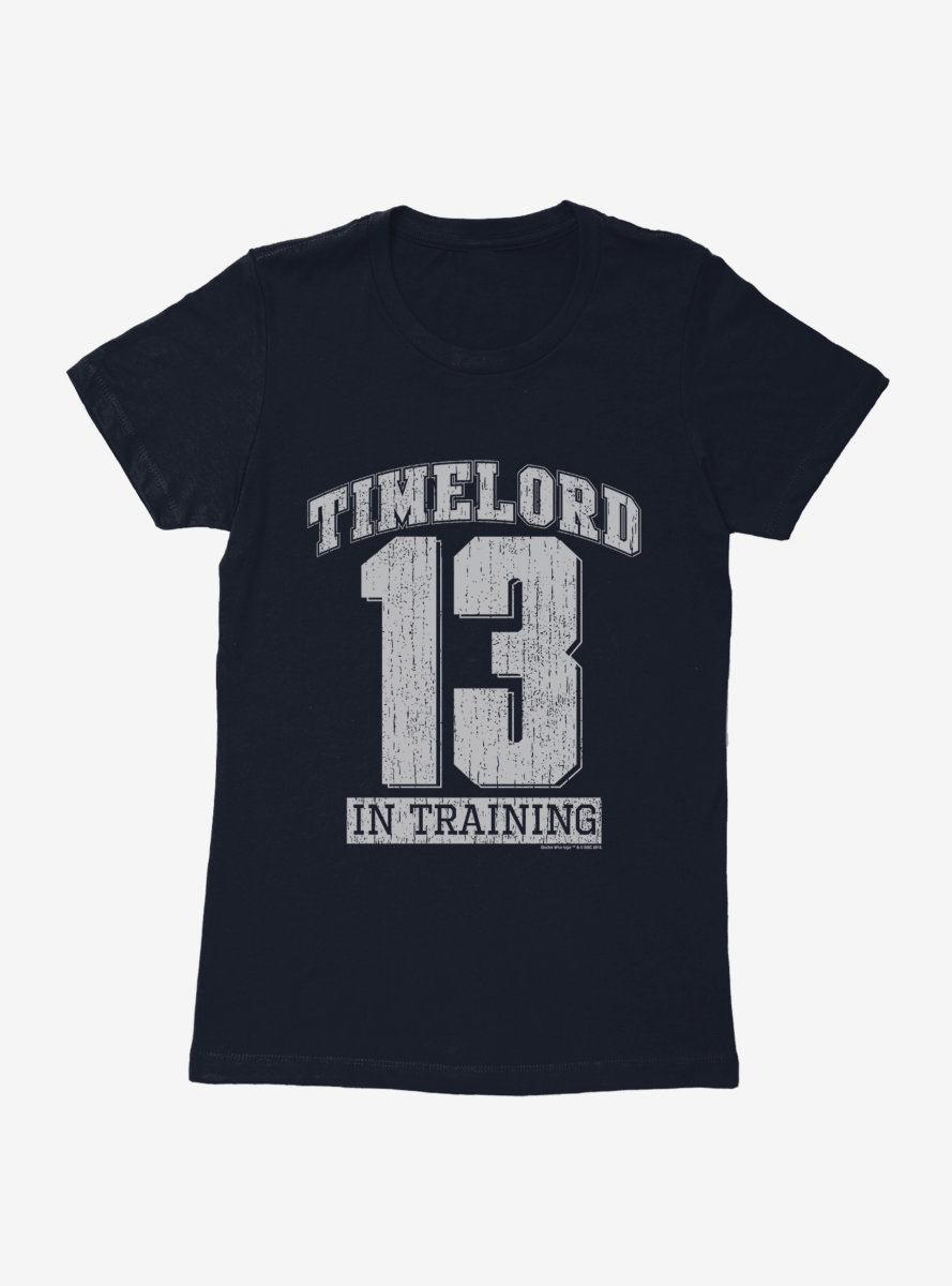 Doctor Who Thirteenth Doctor Time Lord In Training Womens T-Shirt