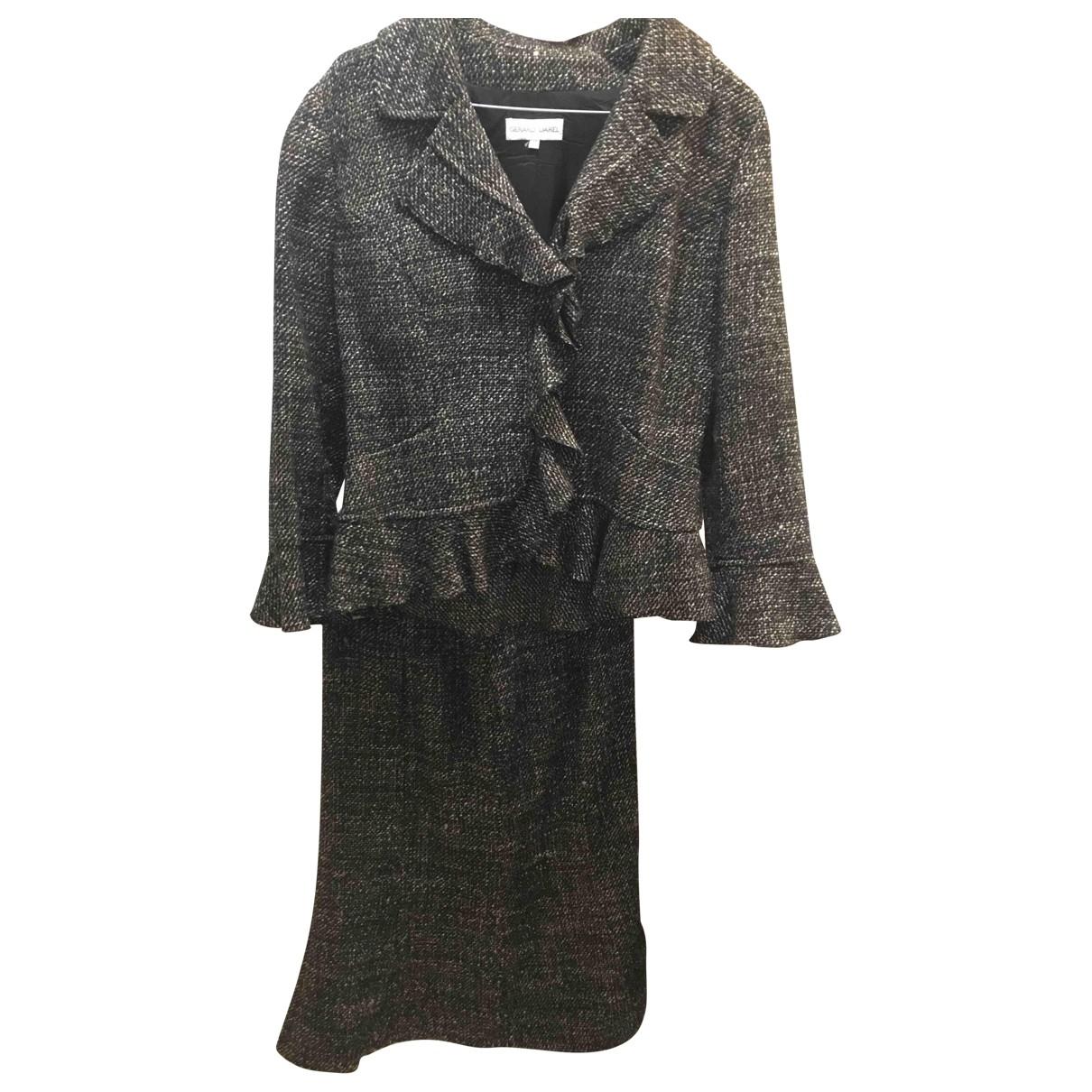 Gerard Darel \N Black Wool skirt for Women 40 FR