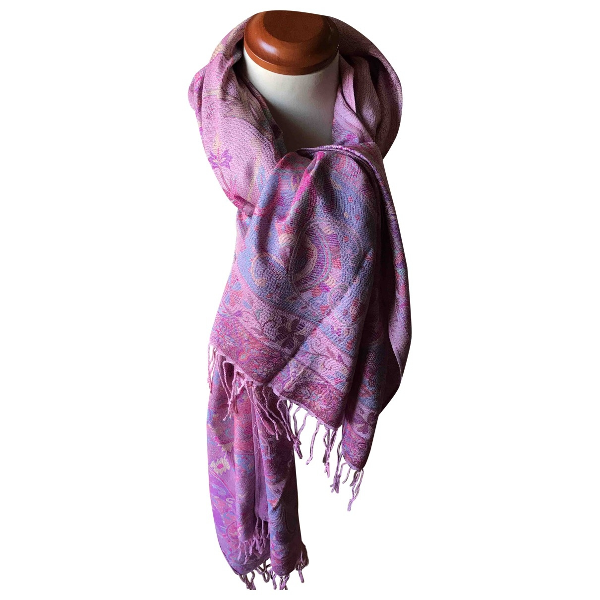 Non Signé / Unsigned \N Multicolour Cotton scarf for Women \N
