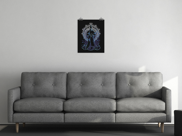 Villain Of The Underworld Matte Poster Poster