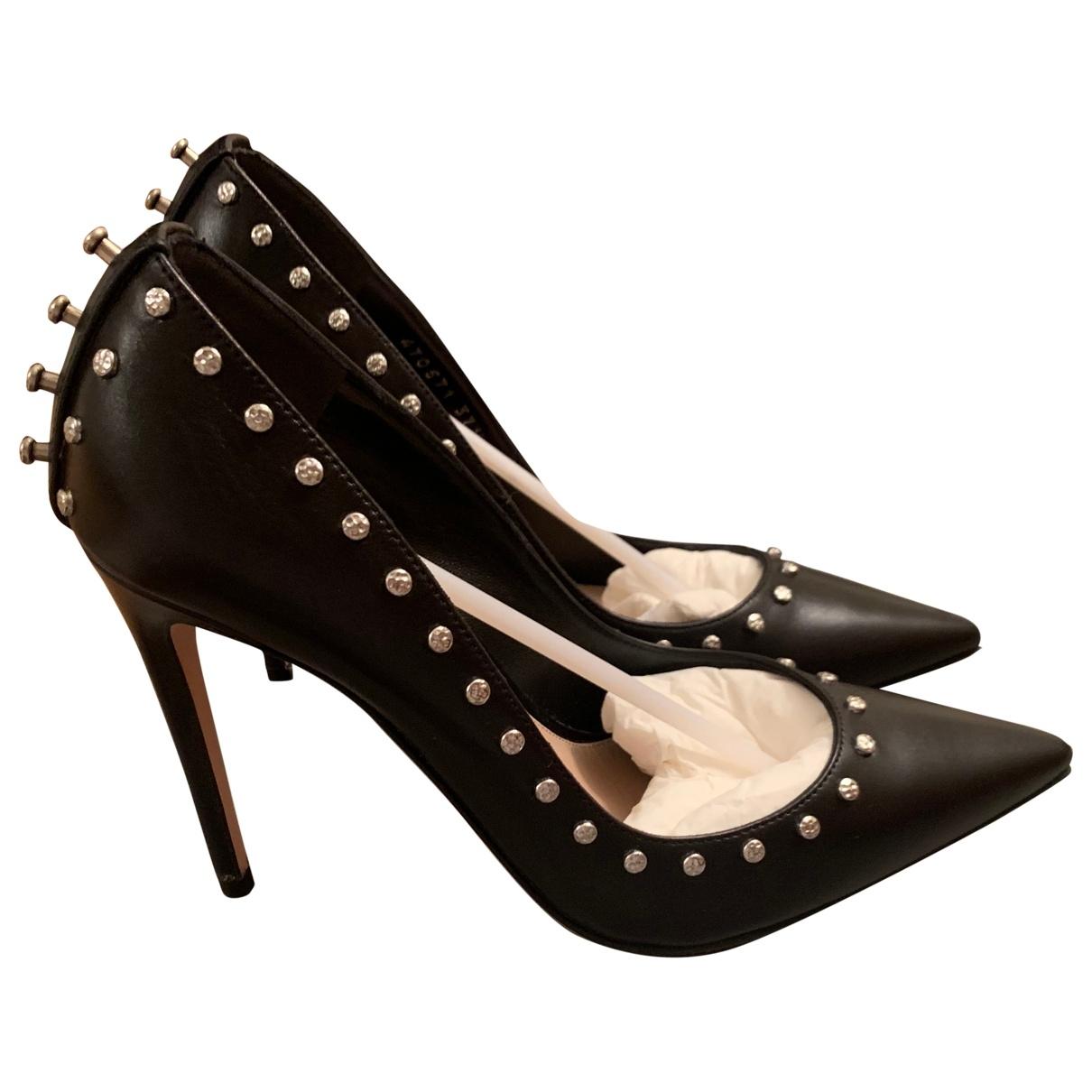 Alexander Mcqueen - Escarpins   pour femme en cuir - noir