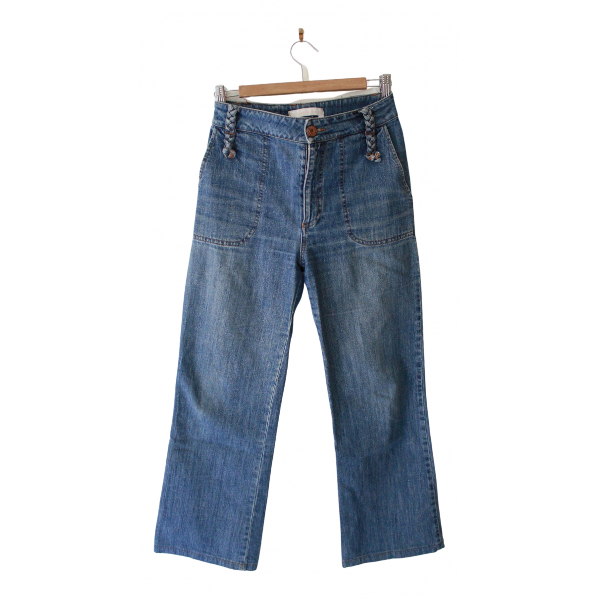 See By Chloé \N Blue Cotton Jeans for Women 38 FR