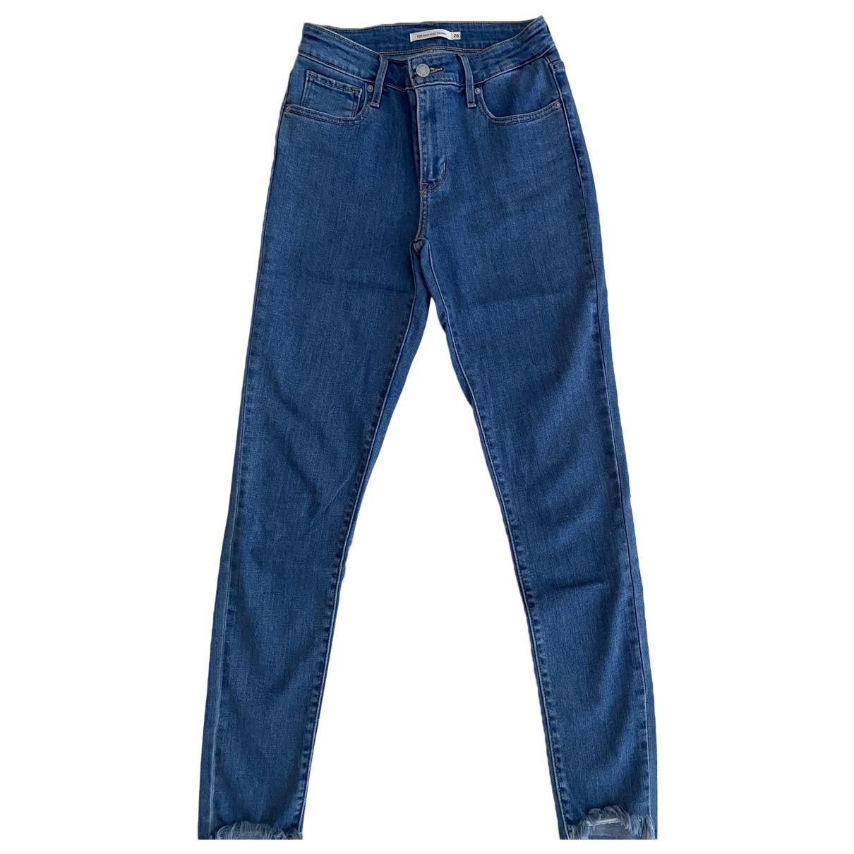 Levi's N Blue Denim - Jeans Trousers for Women XS International