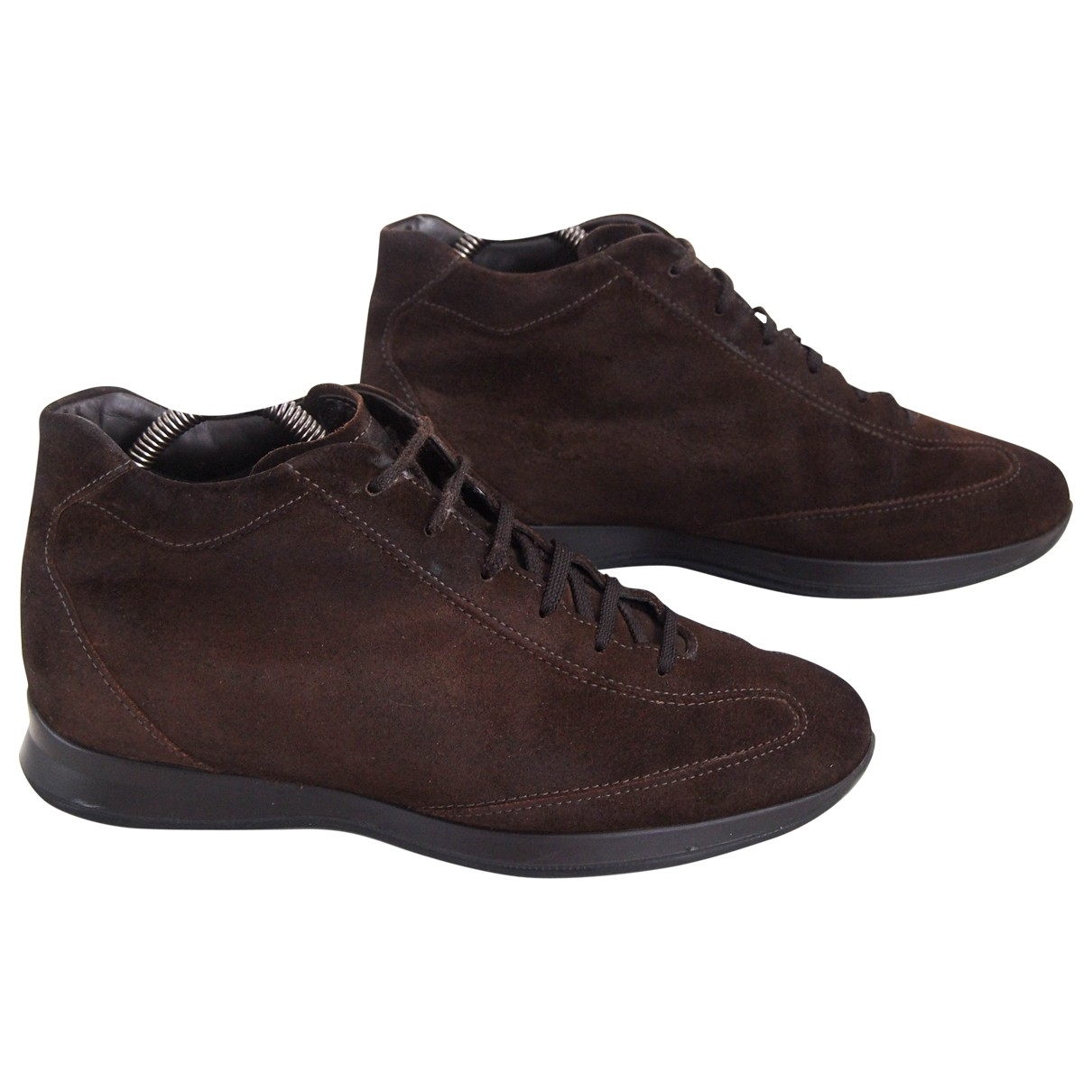 Tod's \N Brown Suede Trainers for Men 40 EU