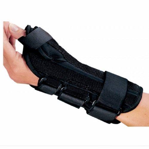 Wrist Splint - Left Hand Black Medium, 1 Each by DJO