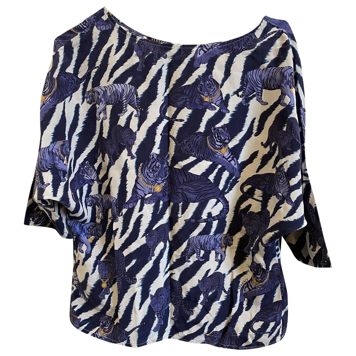 Blusa de Seda Versace Jeans