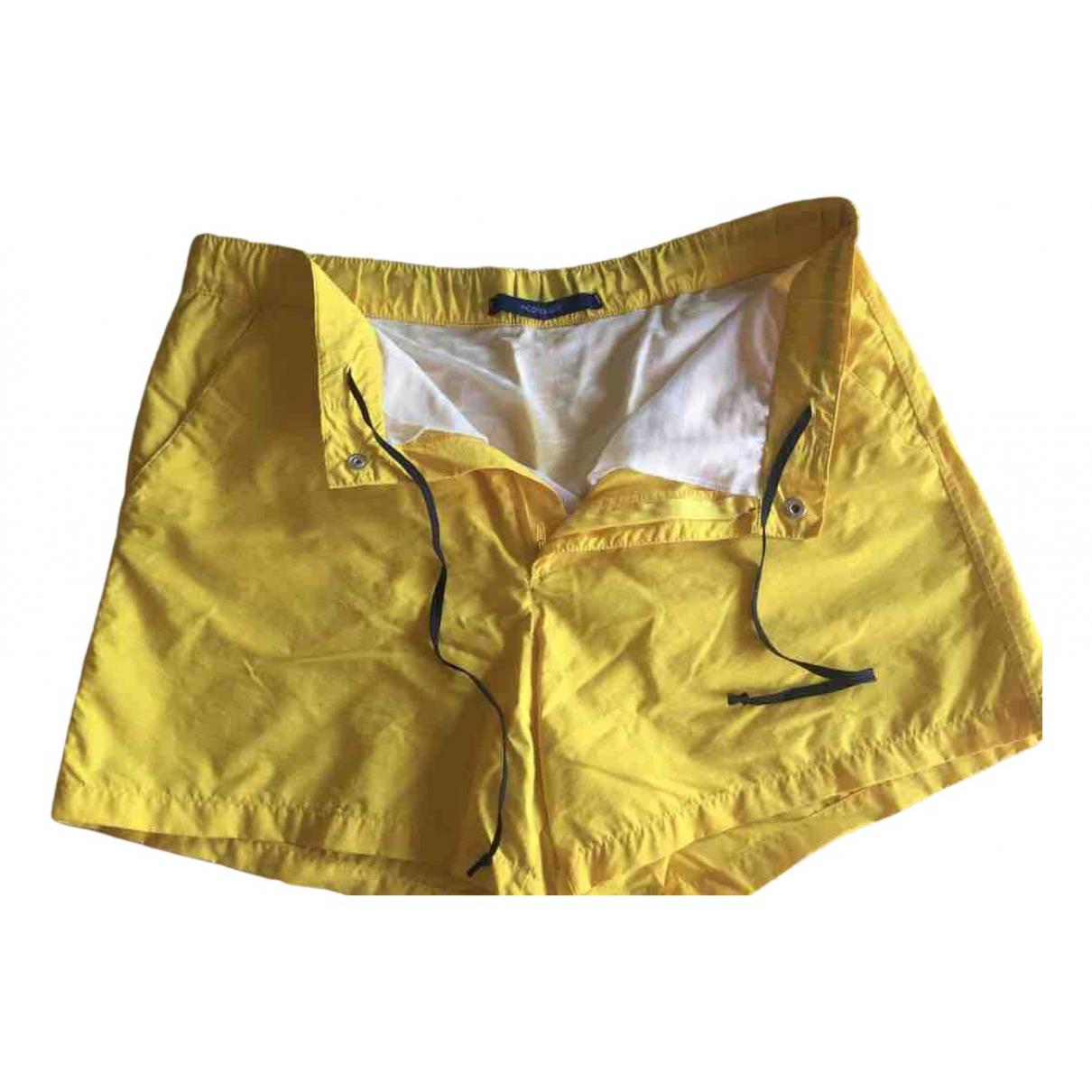 Incotex \N Badeanzug in  Gelb Polyester