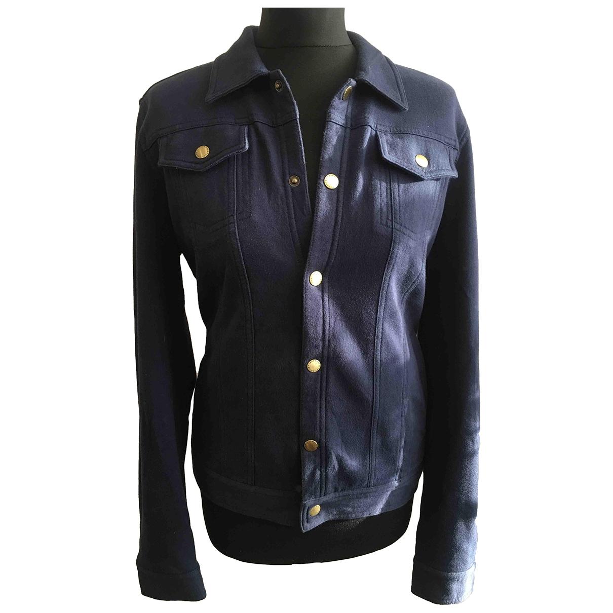 Lauren Ralph Lauren - Veste   pour femme en coton - bleu