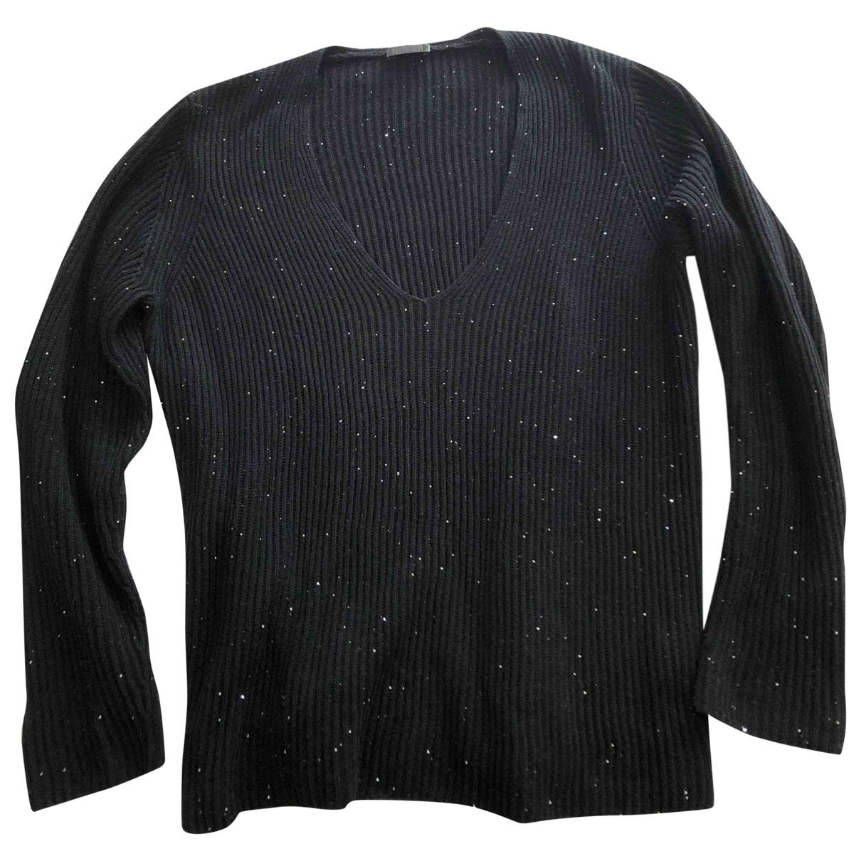 Drykorn - Pull   pour femme en coton - noir