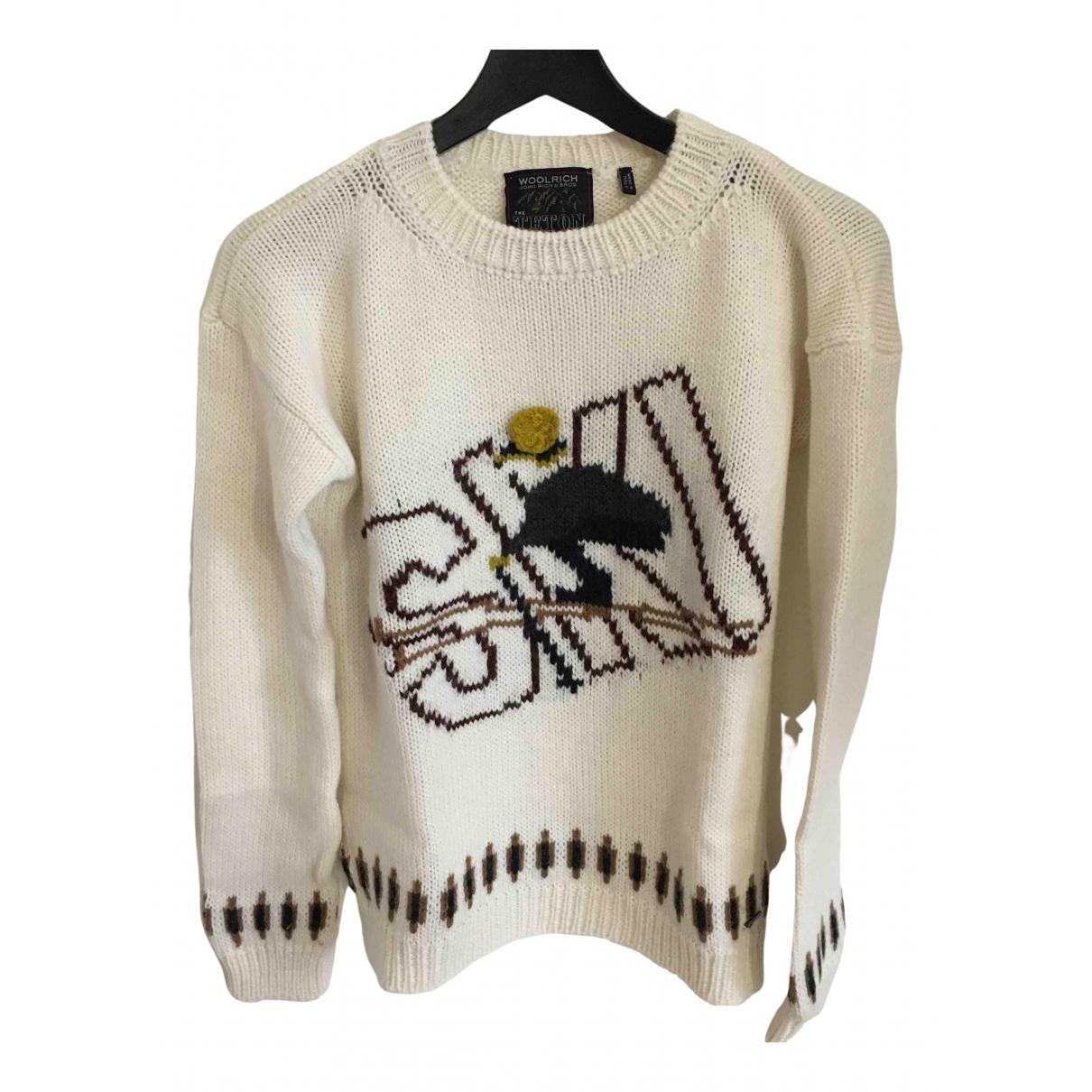 Woolrich \N Ecru Wool Knitwear for Women S International