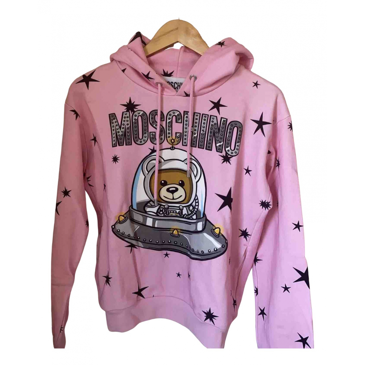 Moschino \N Pink Cotton Knitwear for Women 38 IT